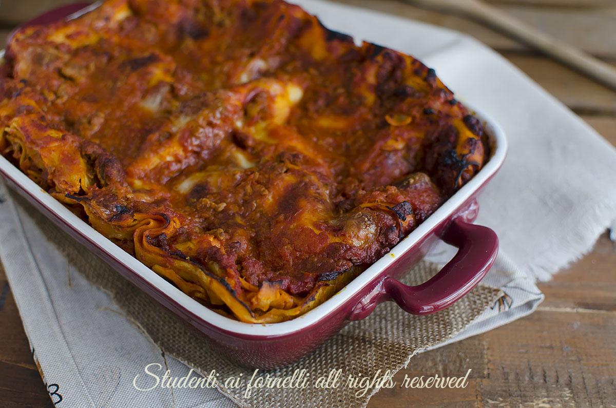 ricetta lasagne al ragù bolognese ricetta primo facile lasagne