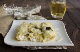 cannelloni salmone e brie con crepes leggere ricotta grana ricetta primo facile veloce vigilia di natale pesce
