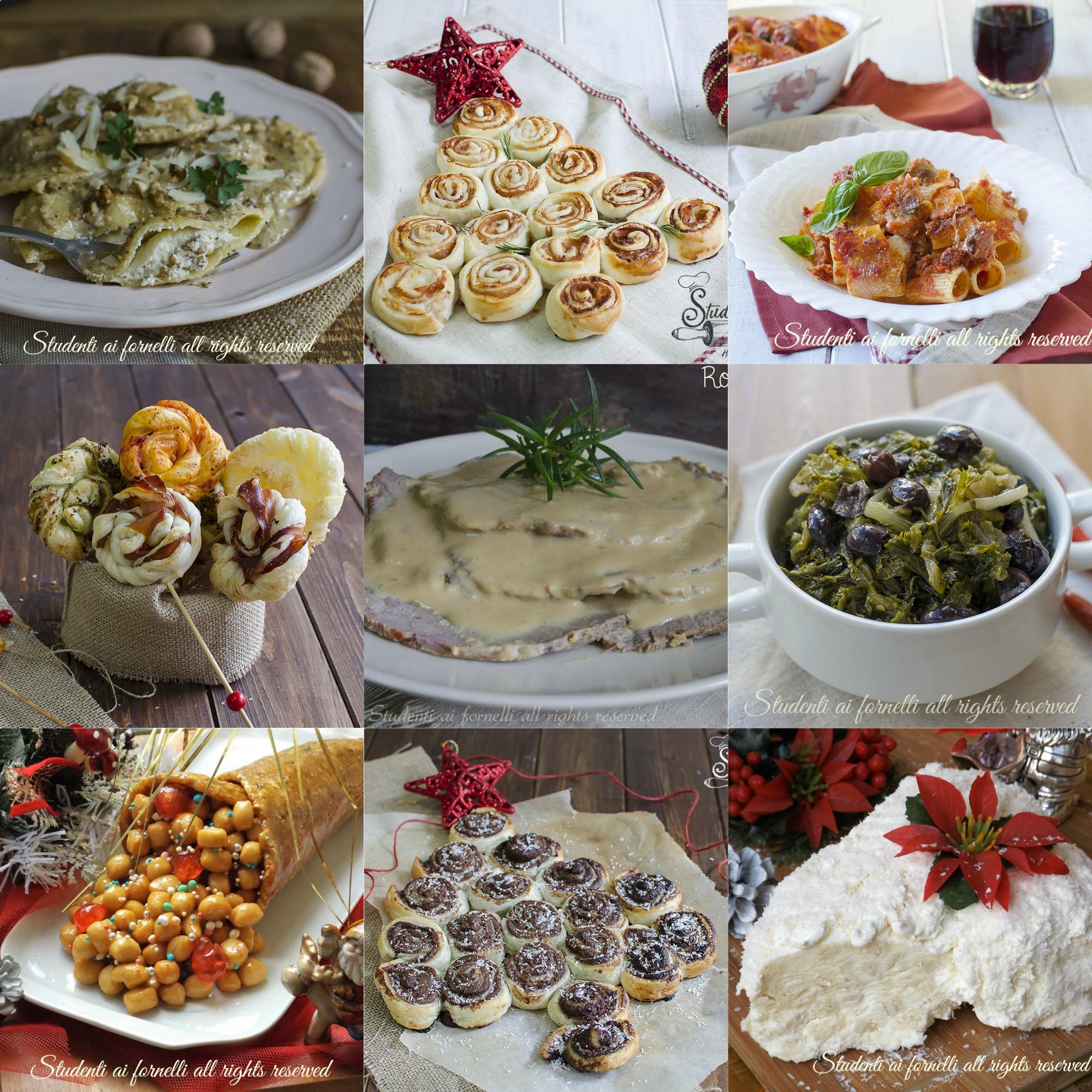 Natale 2017 ricette facili antipasti primi secondi dolci for Ricette facili dolci