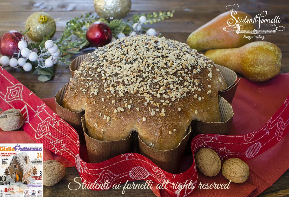 ricetta 2 stella brioche alle pere miele e noci semi integrale
