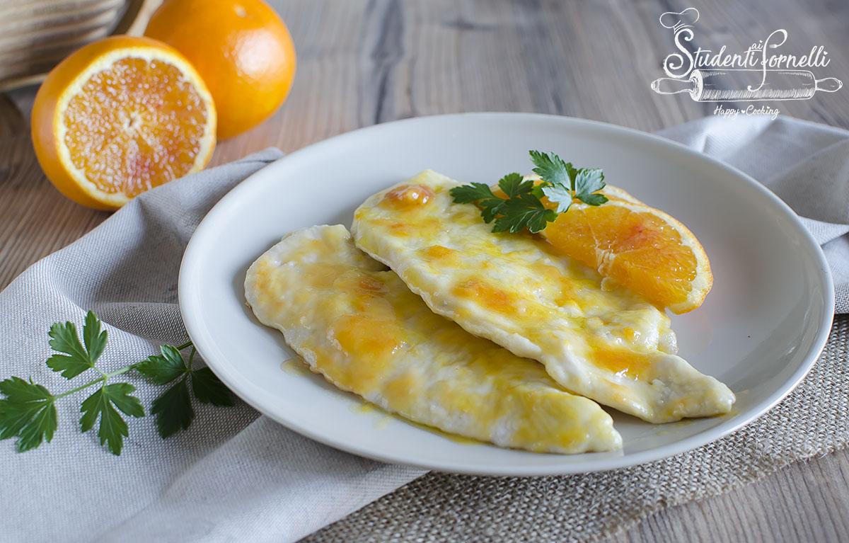 petto di pollo all'arancia scaloppina ricetta secondo