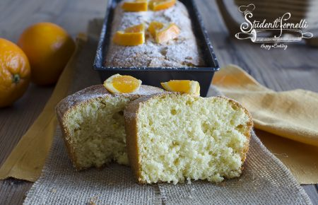 plumcake arancia e panna ricetta dolce 2