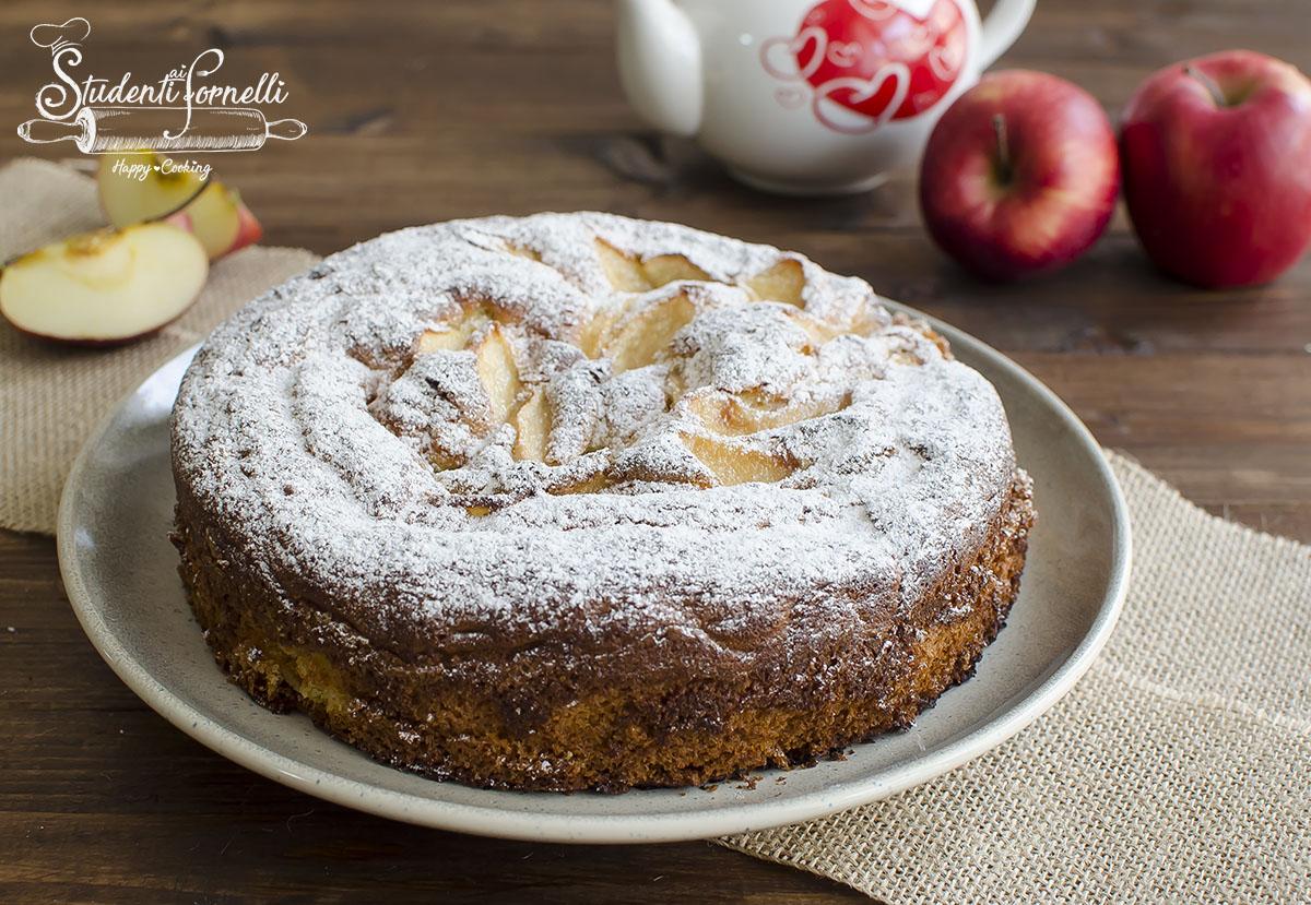 torta di mele ricetta e latte caldo ricetta dolce facile veloce