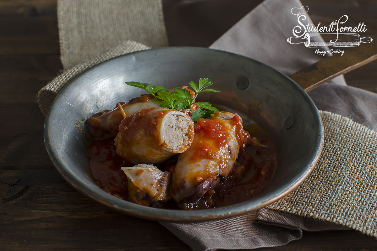 ricetta seppie ripiene al pomodoro ricetta calamari teneri gustosi in padella