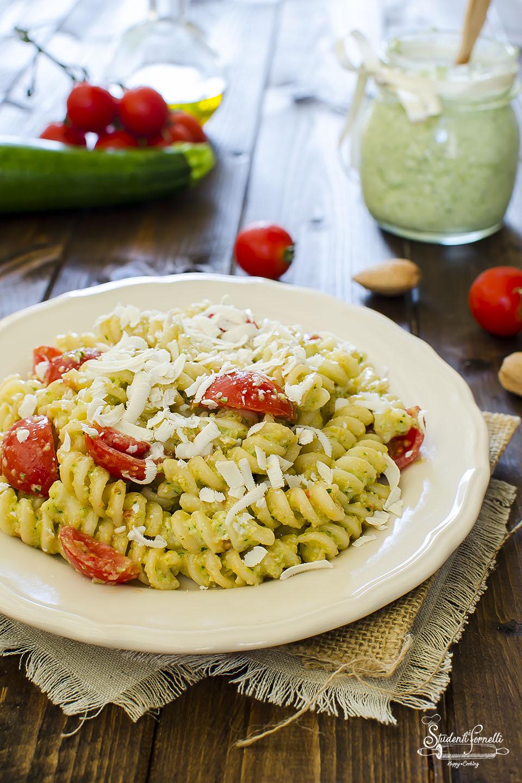 pesto di zucchine cremoso per pasta fredda o calda ricetta copia