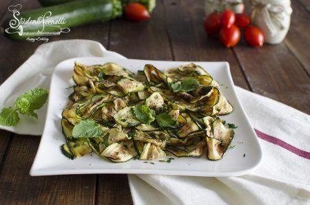 zucchine alla menta ricetta contorno