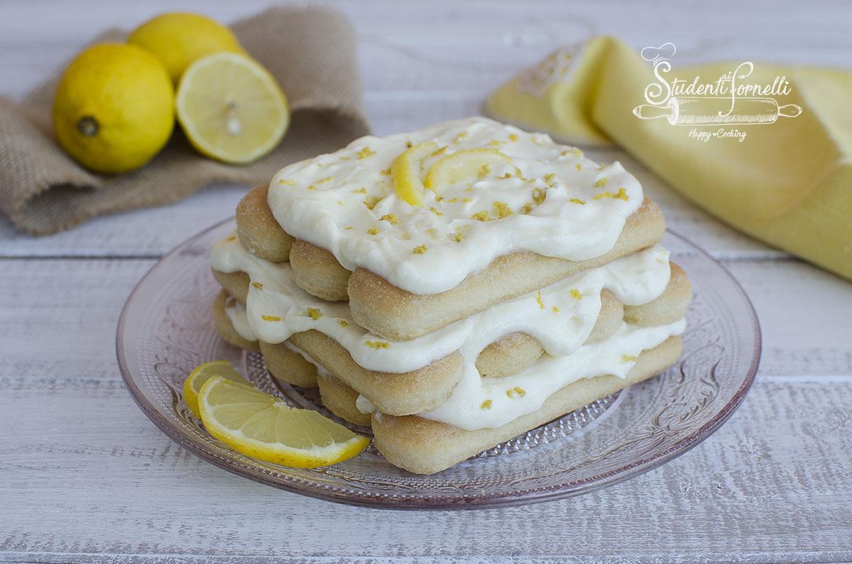 Tiramisu Al Limone Facile Pronto In 15 Minuti Ricetta