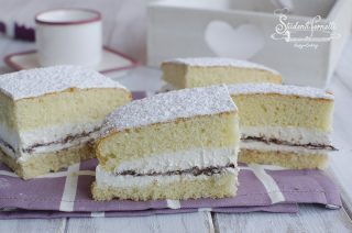 torta alla nutella e crema paradiso al latte tortine paradiso alla nutella ricetta