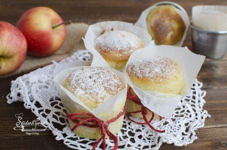 muffin alle mele e yogurt senza burro e olio ricetta dolce