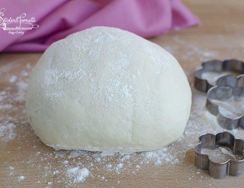 PASTA FROLLA alla RICOTTA SENZA UOVA per crostate e biscotti