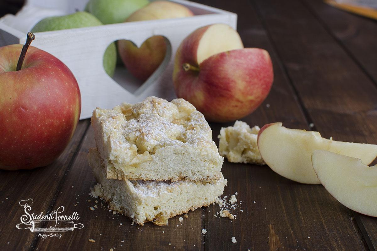 quadrotti di frolla alle mele frolla biscotti morbidi ricetta dolce