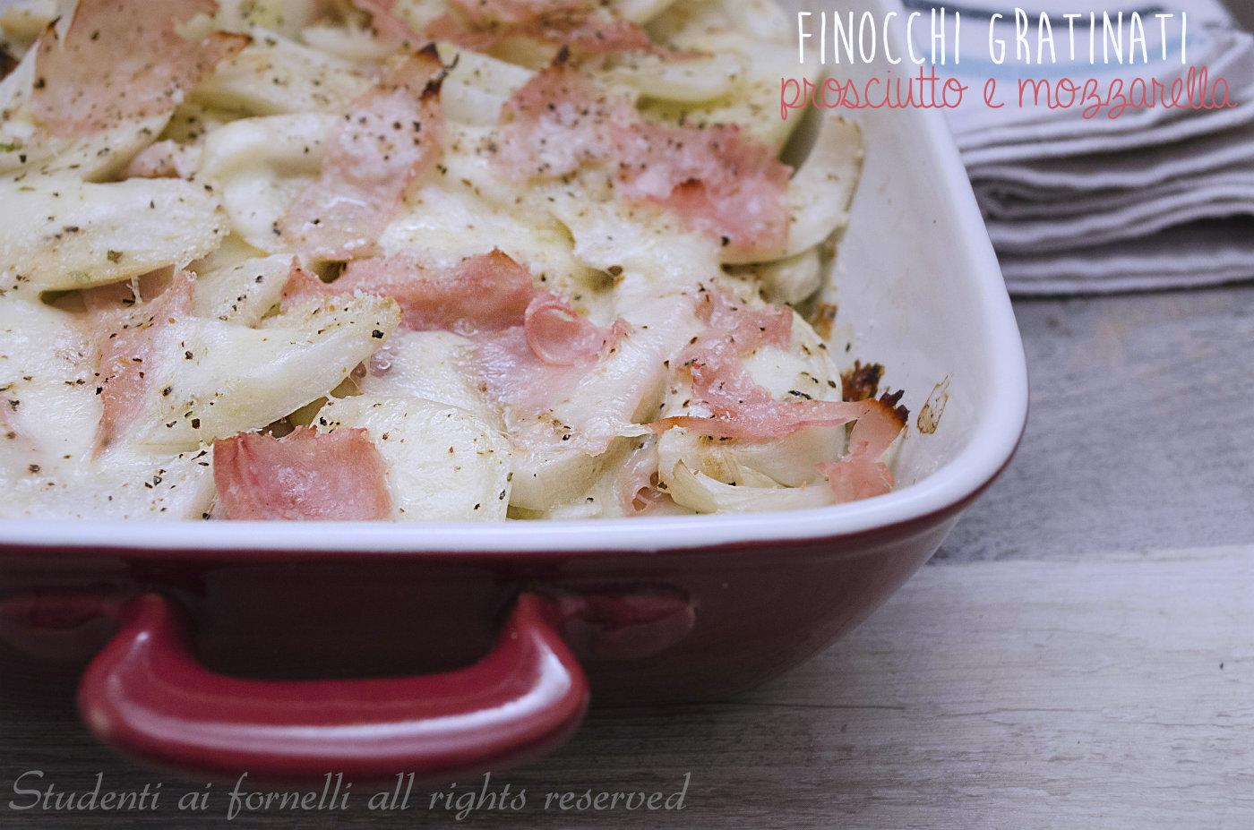 ricette con finocchi gratinati prosciutto e mozzarella al forno o microonde ricetta-senza-besciamella-finocchi-light 2