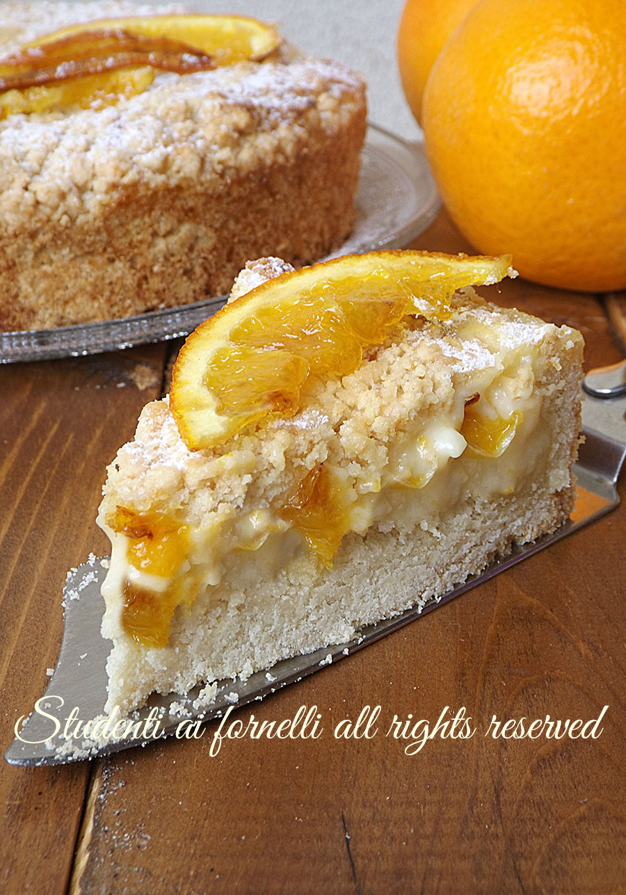 ricetta-facile-sbriciolata alle arance con-crema-alle-arance-facile-e-golosa