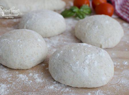 IMPASTO PIZZA INTEGRALE con poco lievito DIGERIBILE