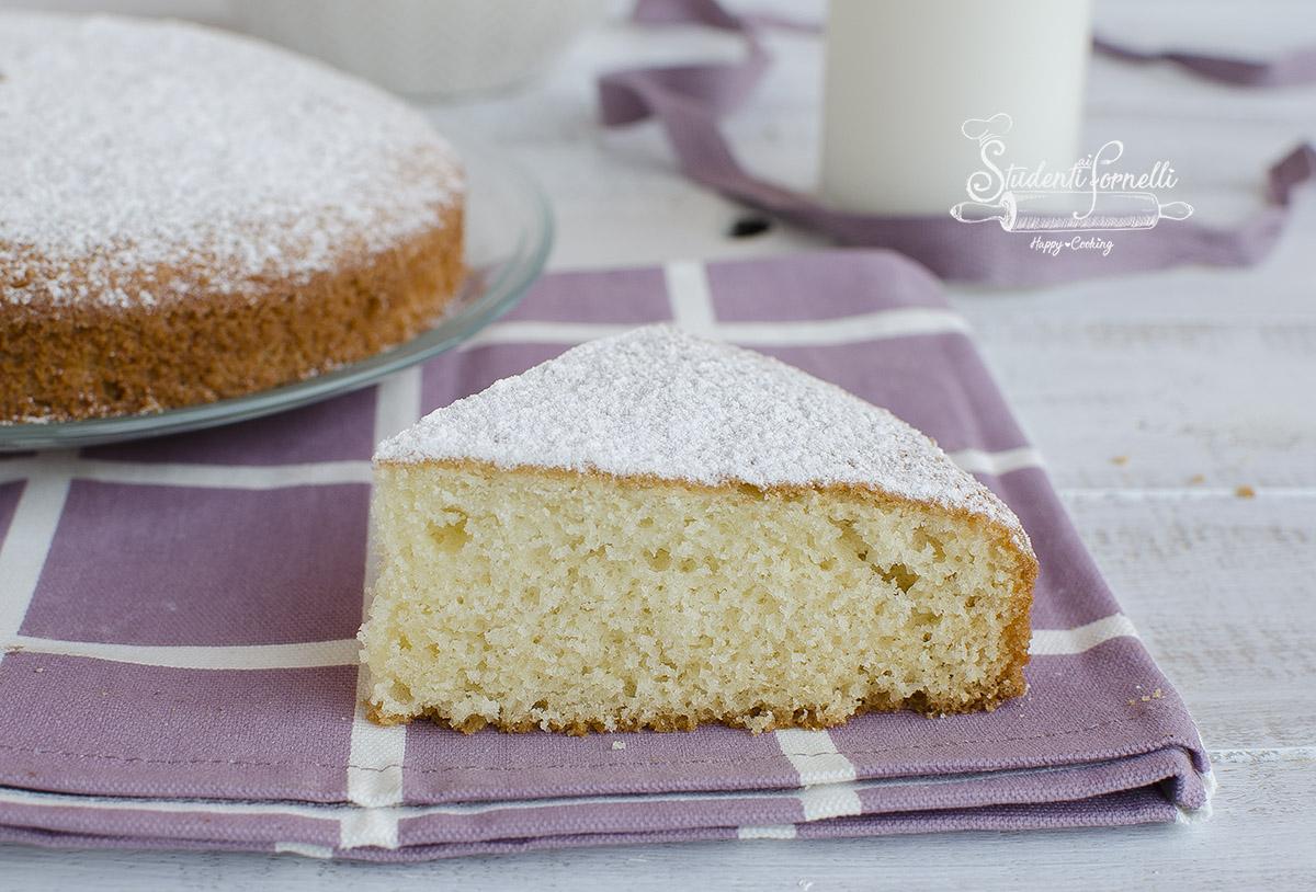 ricetta torta margherita soffice senza olio soffice ricetta dolce facile nuvola colazione o da farcire