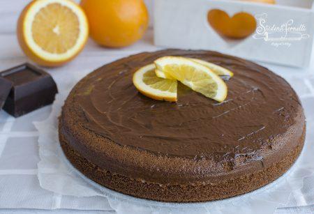 torta arancia e cioccolato ricetta dolce con arance senza burro