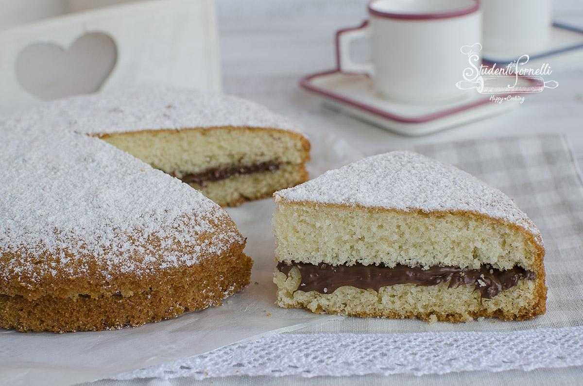 torta margherita alla nutella ricetta dolce