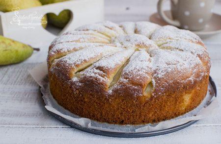 torta pere e yogurt greco senza burro soffice ricetta dolce