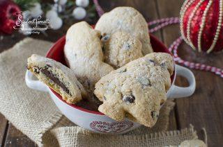 cookies alla nutella natalizi ricetta biscotti ripieni di natale da regalare