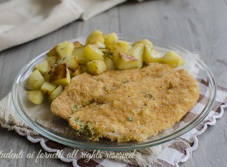 COTOLETTE DI POLLO AL FORNO con panatura al parmigiano