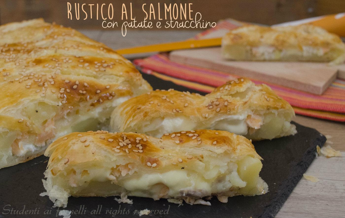 torta salata salmone rustico,al,salmone,patate,e,stracchino,ricetta