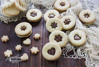 biscotti occhi di bue alla nutella ricetta dolce