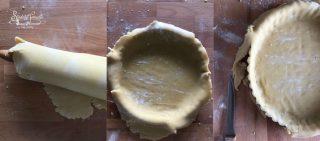 crostata alle fragole e crema