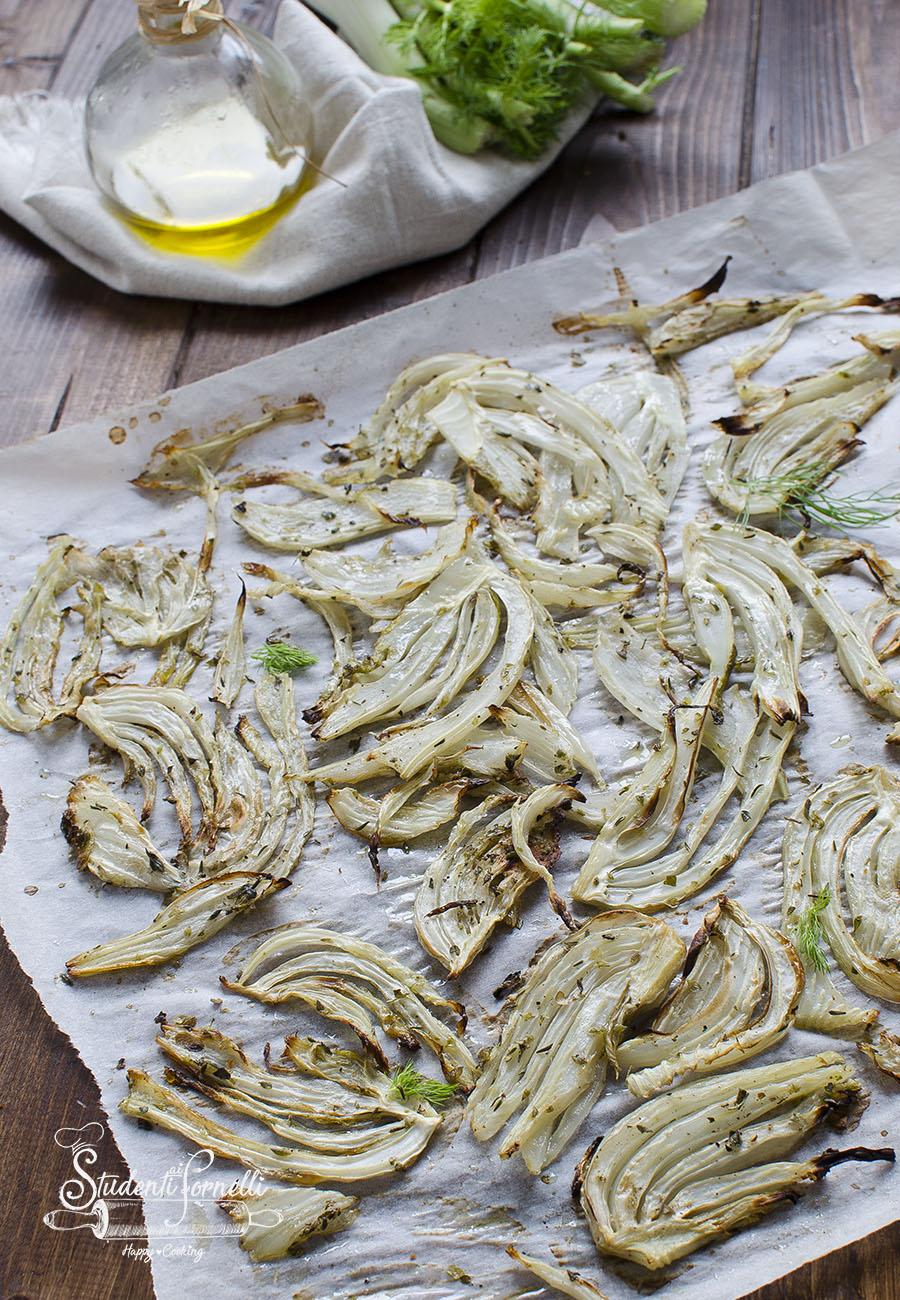 ricetta finocchi al forno contorno semplice e veloce per dieta light