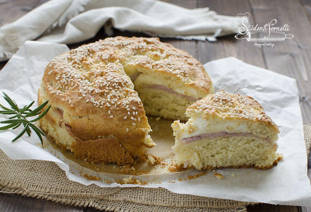 torta salata veloce prosciutto e mozzarella veloce ricetta senza lievitazione