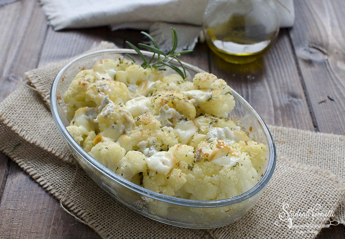 cavolfiori gratinati ai formaggi ricetta secondo piatto contorno