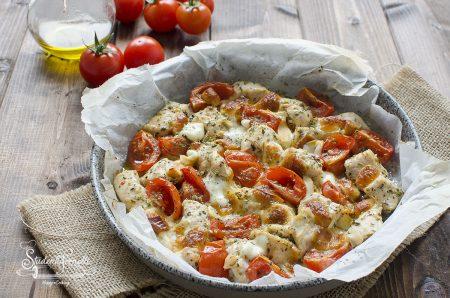pollo alla pizzaiola al forno ricetta secondo