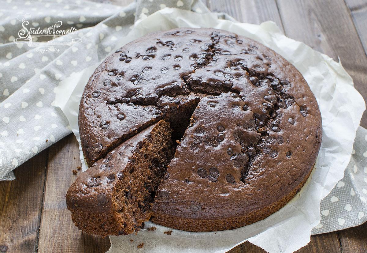 torta cioccolato e yogurt greco ricetta dolce colazione senza burro