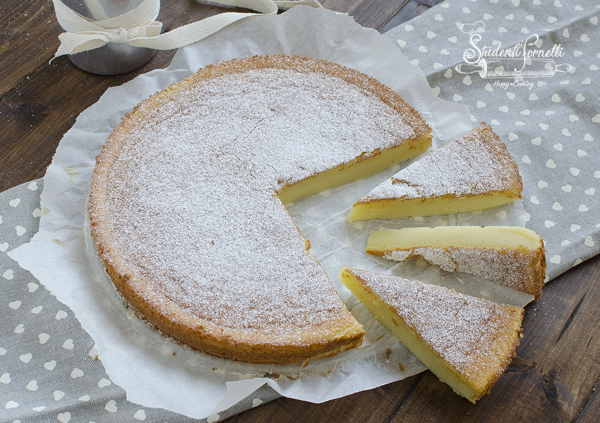 torta cremosa al latte ricetta torta budino ricetta dolce