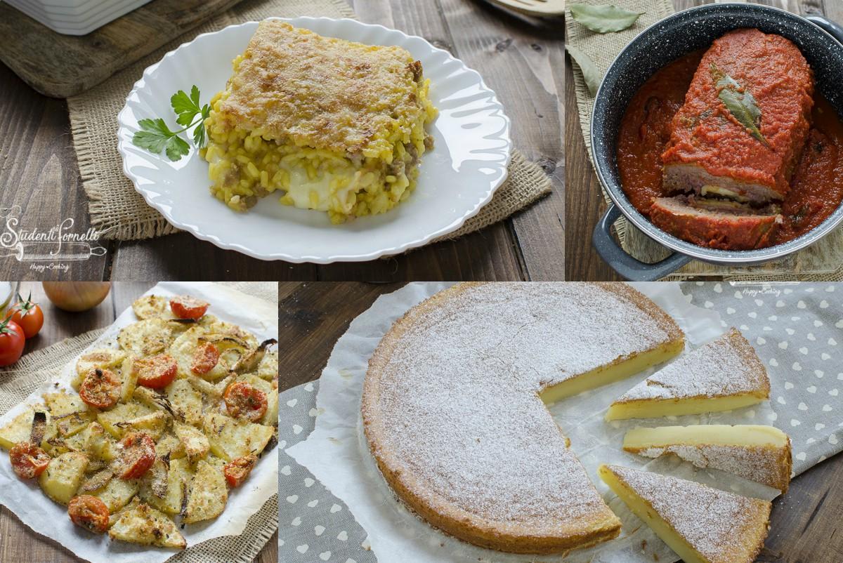 Cosa Fare A Pranzo menu per la domenica in 1 ora: ricette veloci per il pranzo