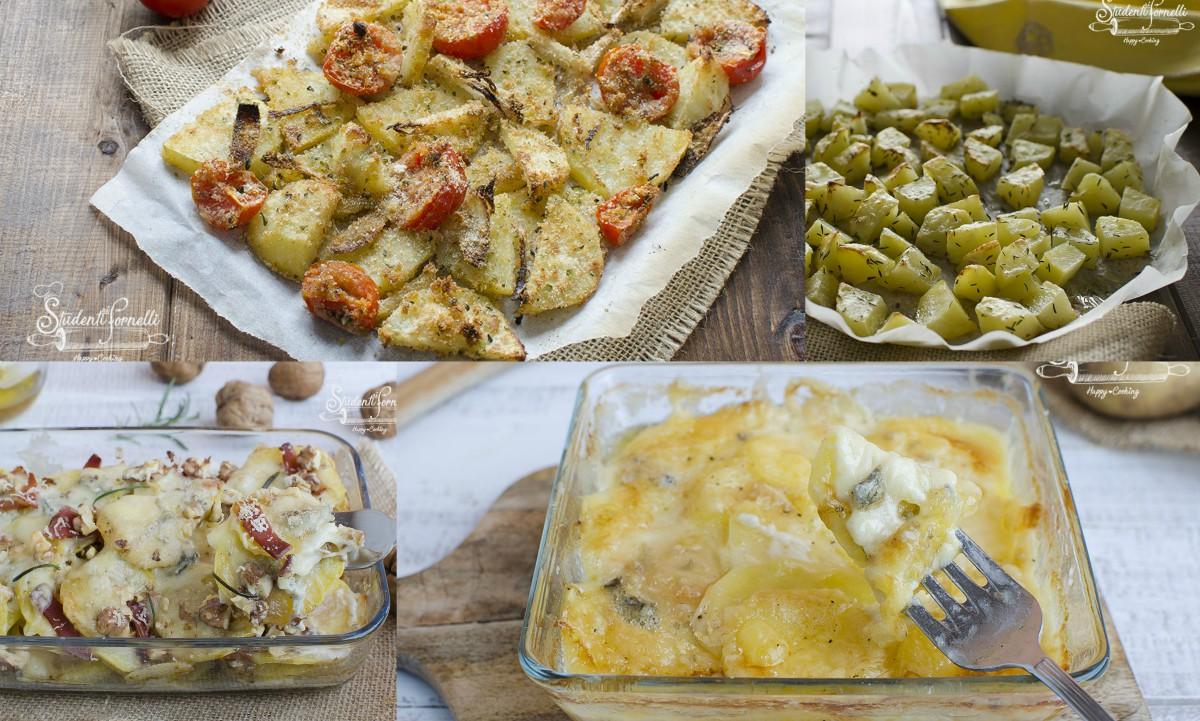 contorni con patate al forno o in padella ricetta sfiziosa