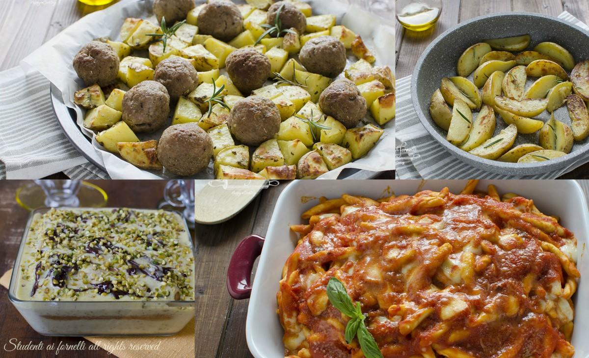 menu 1 ora per la domenica ricette facili e veloci primi piatti secondi contorni e dolci