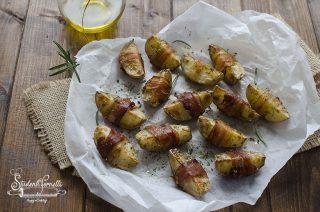 patate a spicchi al forno con pancetta al forno a spicchi ricetta contorno