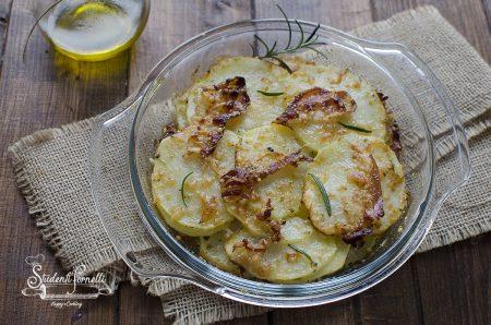 ricetta patate gratiante con pancetta e parmigiano ricetta contorno secondo