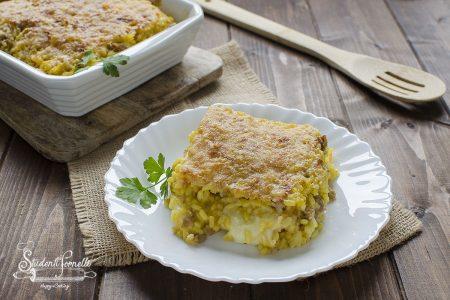 ricetta riso al forno salsiccia e zafferano e salsiccia ricetta primo
