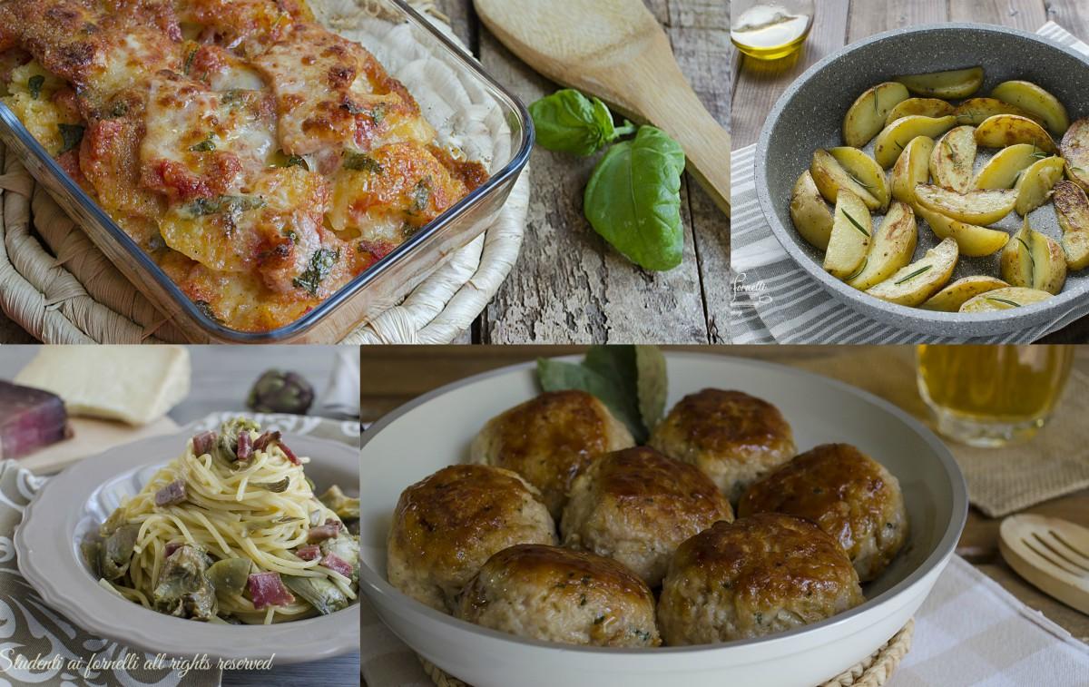 Cosa Fare A Pranzo 15 ricette per la settimana: primi, secondi, contorni e