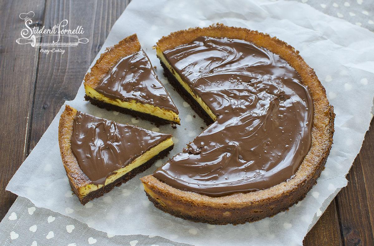 Ricetta Cheesecake Cotta.Cheesecake Mascarpone E Nutella Al Forno Cremosissima