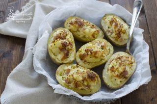patate ripiene al forno speck prosciutto e scamorza ricetta secondo