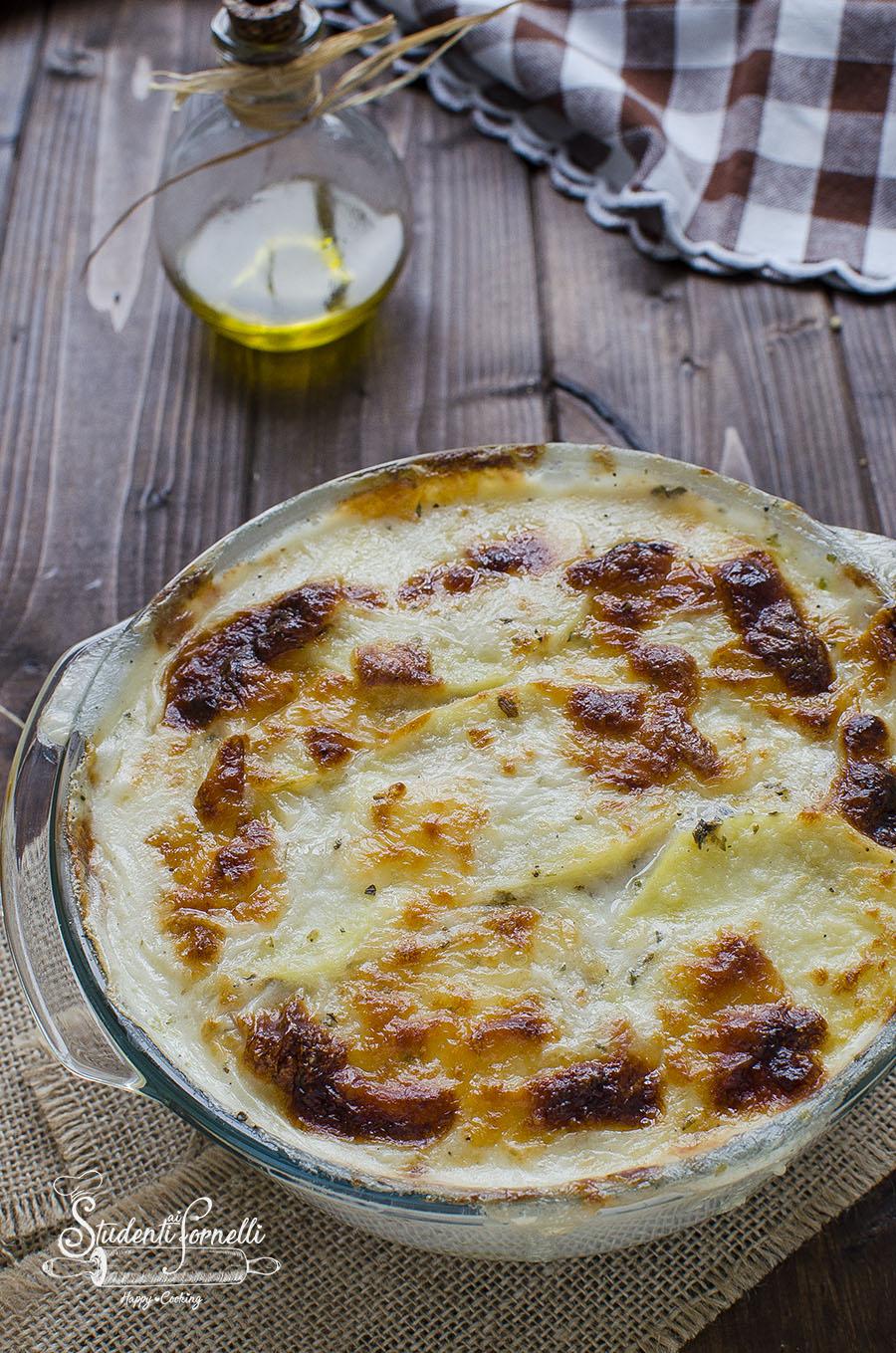 parmigiana di patate prosciutto e scamorza ricetta secondo