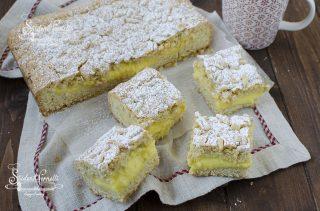 crostata alla crema e pinoli torta della nonna ricetta dolce