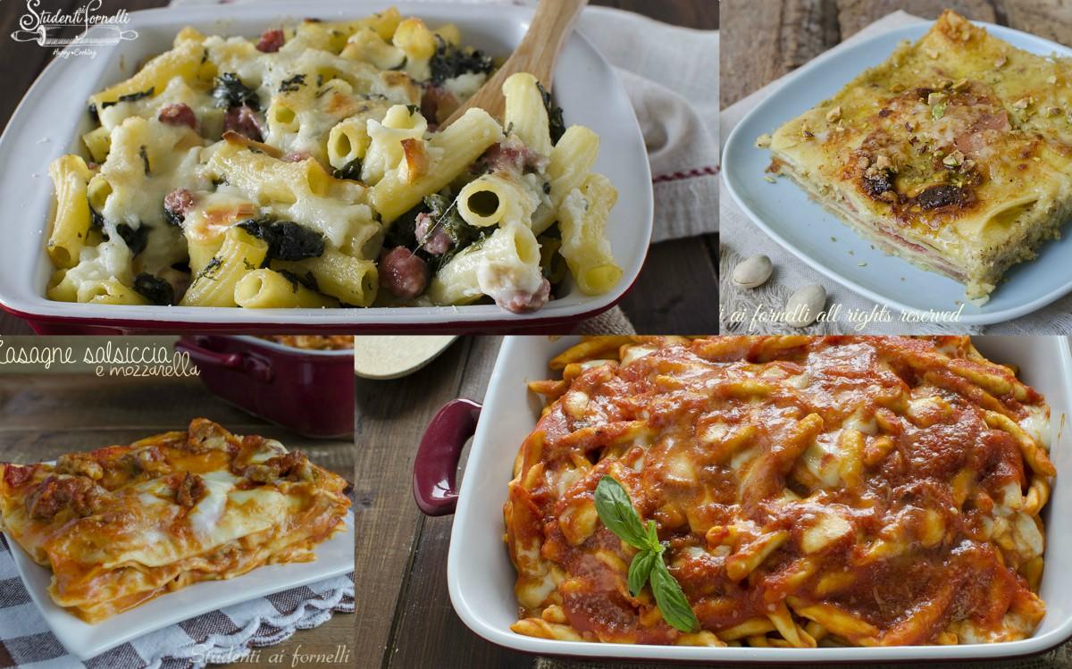 primi piatti per pasqua ricette facili lasagne e pasta al forno
