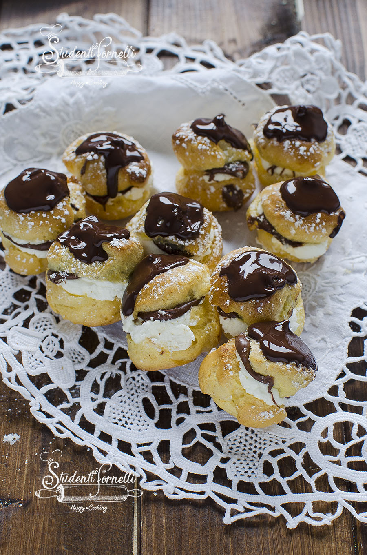 bignè mascarpone e nutella ricetta dolce veloce