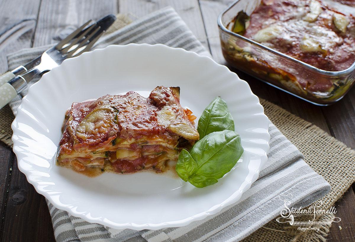 parmigiana di zucchine veloce al pomodoro ricetta secondo