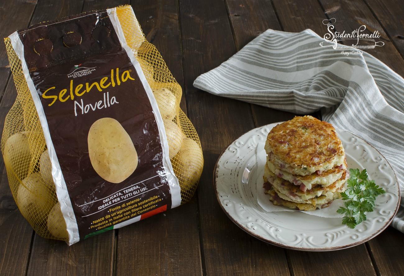 rosti di patate e pancetta ricetta frittelle veloci secondo piatto