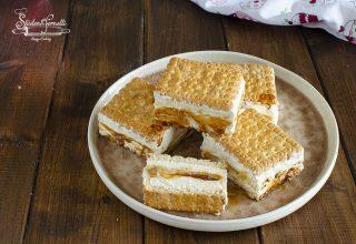 biscotti gelato al caramello ricetta
