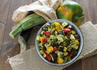 ricetta verdure light in friggitrice ad aria ricetta contorno light